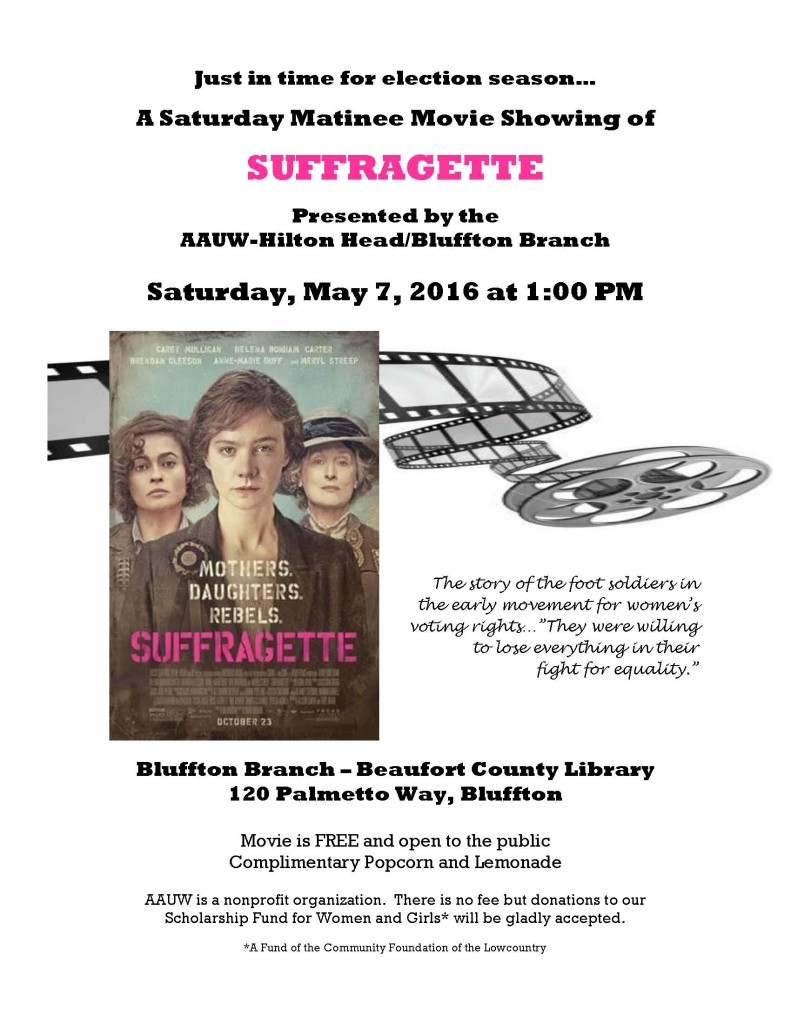 Suffragette Movie Poster doc version