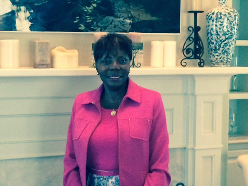 Rebecca Cooper, Ed.D., President of the AAUW Beaufort Branch, South Carolina